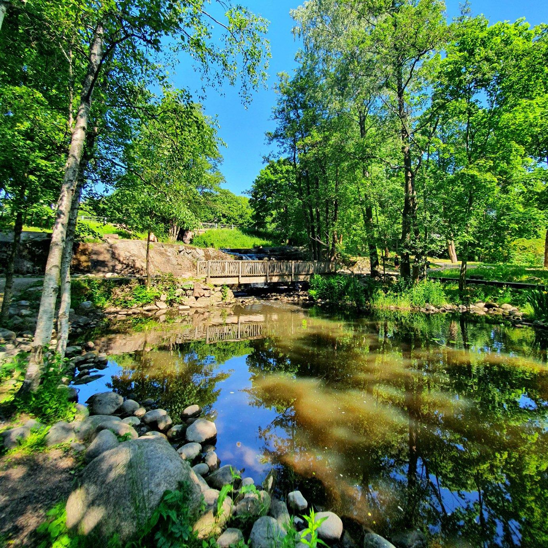 Strömbergin puisto, Helsingin Pitäjänmäessä