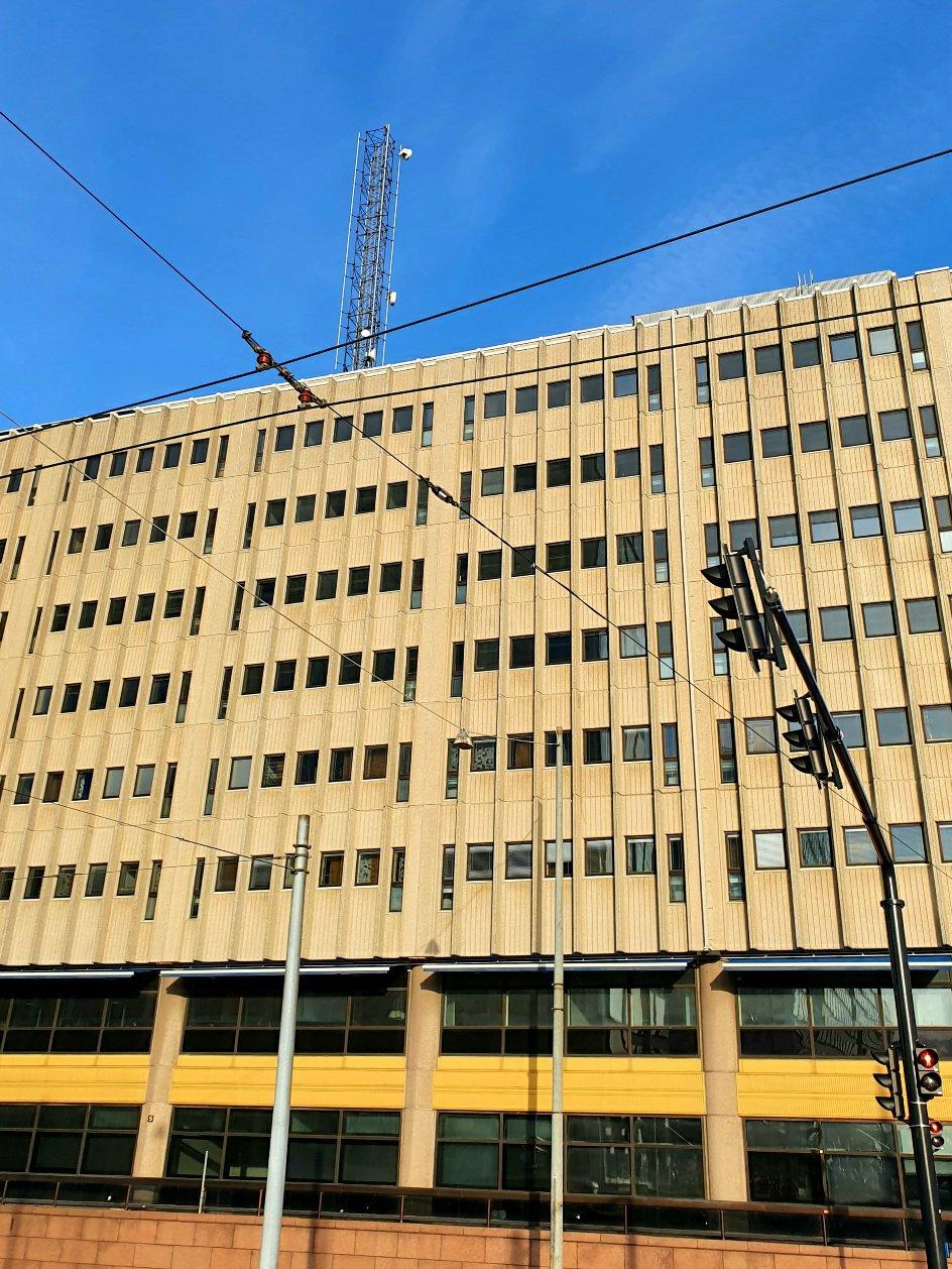 Tyypillinen pasilalainen rakennus, Pasila Helsinki